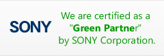 Sony Green Partner